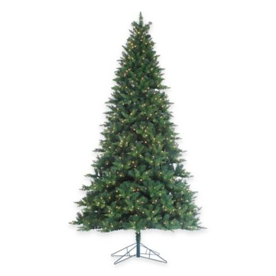 9-Foot x 60-Inch Longwood Pine Tree Pre-Lit with 900 Clear Lights
