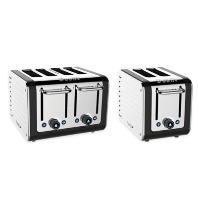 Dualit® 2-Slice Design Series Toaster in Black