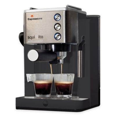 Breville Aroma Fresh Coffee Maker Instructions : Buy Breville Infuser BES840XL Espresso Machine in Stainless Steel from Bed Bath & Beyond