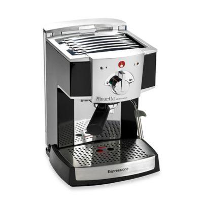 Espressione 1334/1B Café Minuetto Espresso Machine in Black