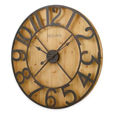 Bulova Silhouette Wall Clock