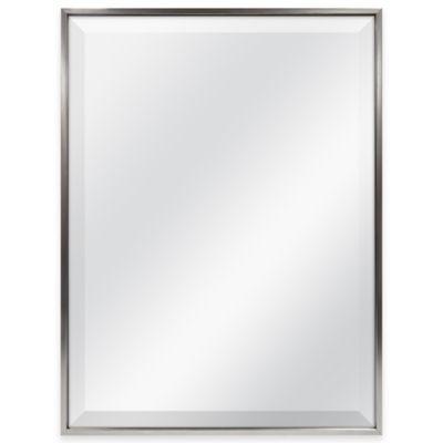 Pewter Rectangular Mirror