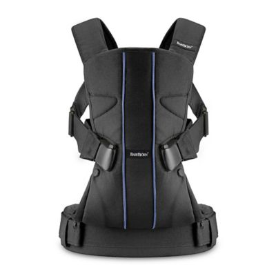 BABYBJORN® 2015 Baby Carrier One in Black/Blue Lines