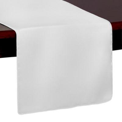 Duchess 54-Inch Table Runner in White
