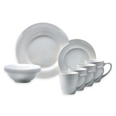 Oneida® Continuum 16-Piece Dinnerware Set in White