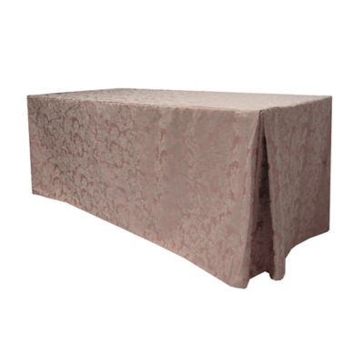 Pewter Damask Tablecloth