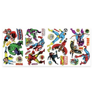 RoomMates Disney® Marvel Classics Peel & Stick Wall Decals