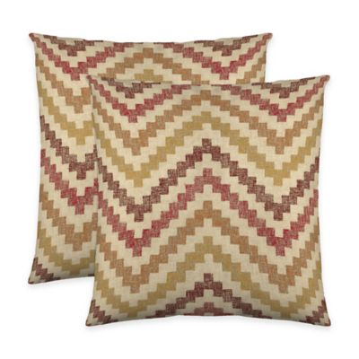 Colorfly™ Izzy Throw Pillow in Spice (Set of 2)