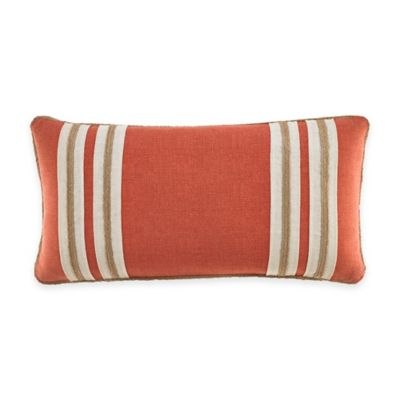 Kravet Alsace Oblong Throw Pillow in Persimmon