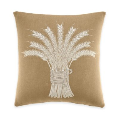 Inspired by Kravet Alsace Square Throw Pillow in Linen