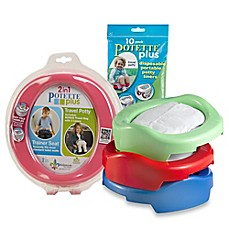 Potette® Plus 2-in-1 Travel Potty & Trainer Seat by Kalencom