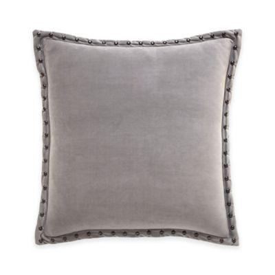 Inspired by Kravet Jaipur Square Throw Pillow in Grey