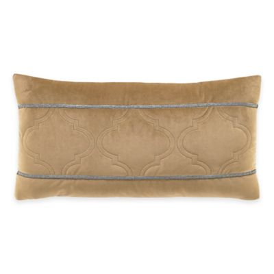 Inspired by Kravet Jaipur Oblong Throw Pillow in Gold