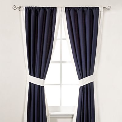 Inspired by Kravet Aida 84-Inch Window Panel Pair in Indigo