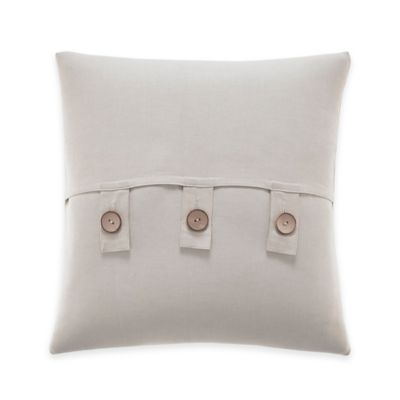 Inspired by Kravet Aida Square Throw Pillow in Linen