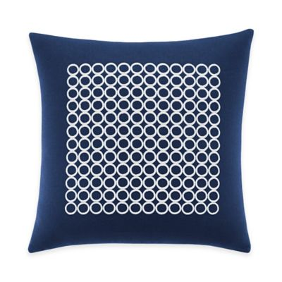 Inspired by Kravet Aida Square Throw Pillow in Indigo