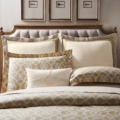 Inspired by Kravet Lions Gate European Pillow Sham in Linen