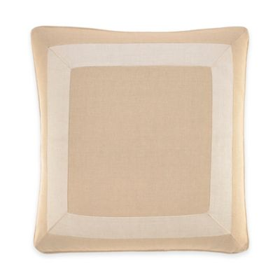 Inspired by Kravet Lions Gate Square Throw Pillow in Linen