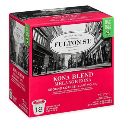 18-Count Fulton St.™ Kona Blend RealCup™ Coffee for Single Serve Coffee Makers