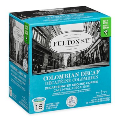 18-Count Fulton St.™ Colombian Decaf RealCup™ Coffee for Single Serve Coffee Makers