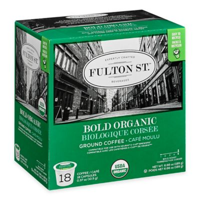 18-Count Fulton St.™ Bold Organic RealCup™ Coffee for Single Serve Coffee Makers