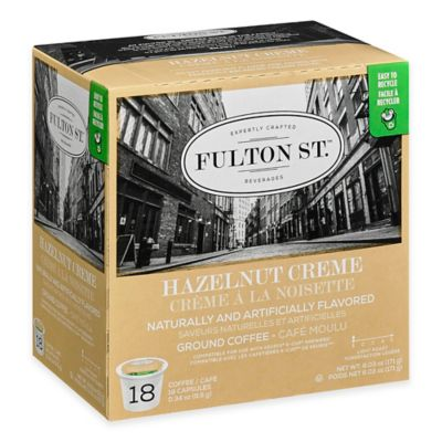 18-Count Fulton St.™ Hazelnut Creme RealCup™ Coffee for Single Serve Coffee Makers