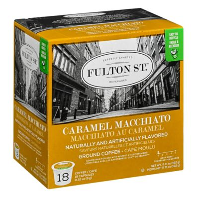18-Count Fulton St.™ Caramel Macchiato RealCup™ Coffee for Single Serve Coffee Makers