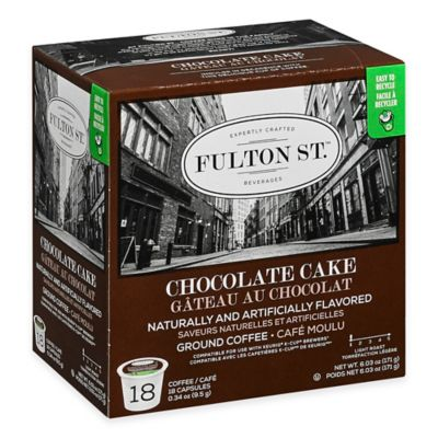 18-Count Fulton St.™ Chocolate Cake RealCup™ Coffee for Single Serve Coffee Makers