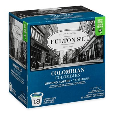 18-Count Fulton St.™ Colombian RealCup™ Coffee for Single Serve Coffee Makers
