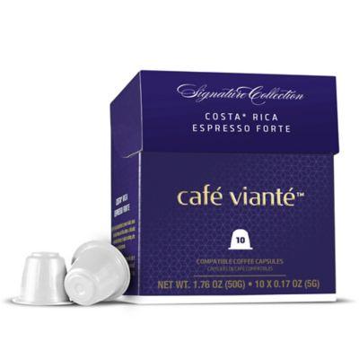Spressoluxe® 10-Count Costa Rica Espresso Forte Nespresso® Compatible Coffee Capsules