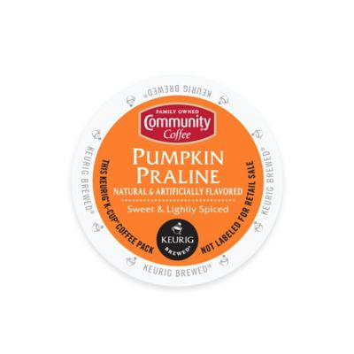 Keurig® K-Cup® Pack 18-Count Community Coffee® Pumpkin Praline