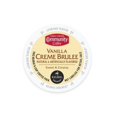 Keurig® K-Cup® Pack 18-Count Community Coffee® Vanilla Crème Brulee