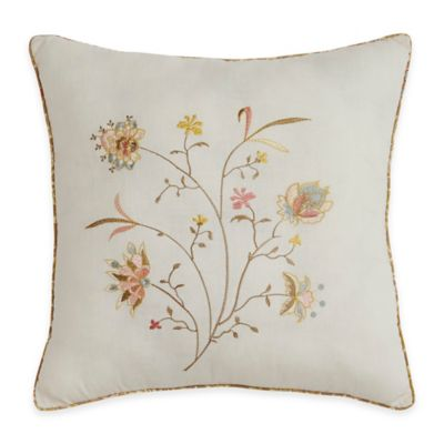 Sage Ivory Throw Pillow