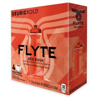 Keurig® KOLD™ 4-Count Flyte™ Red Rush™