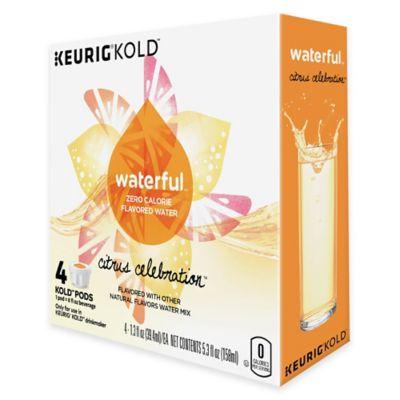 Keurig® KOLD™ 4-Count Waterful™ Citrus Celebration™