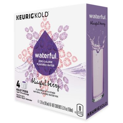 Keurig® KOLD™ 4-Count Waterful™ Blissful Berry