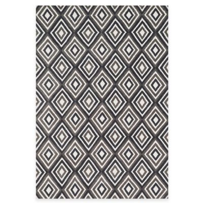 Loloi Rugs Cassidy Diamonds 3-Foot 6-Inch x 5-Foot 6-Inch Area Rug in Grey