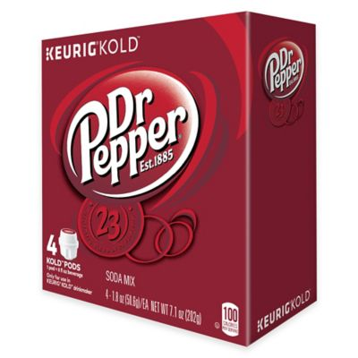 Keurig® KOLD™ 4-Count Dr Pepper®