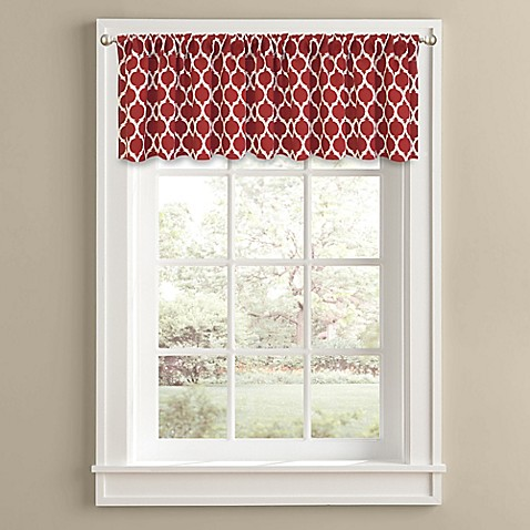 Morocco 14 inch window valance for 14 inch window