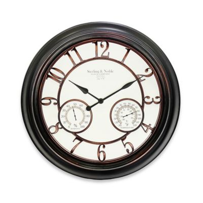 Plastic Metal Wall Clock
