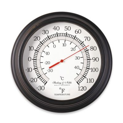Outdoor Thermometers Clocks