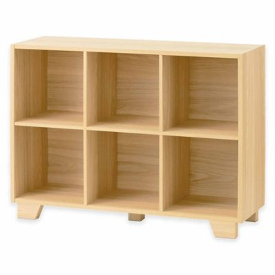 Real Simple® Bi-Directional 6-Cube Organizer in Natural