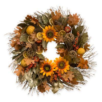 15-Inch Harvest Botanical Wreath