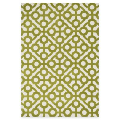 Loloi Rugs Cassidy Geometric 9-Foot 3-Inch x 13-Foot Area Rug in Green