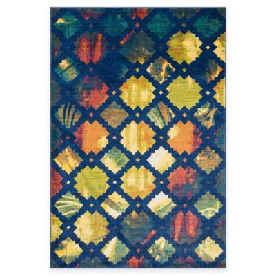 Loloi Rugs Lyon Lyndia 7-Foot 7-Inch x 10-Foot 5-Inch Area Rug in Blue