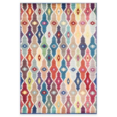 Loloi Rugs Lyon Geometric 5-Foot 2-Inch x 7-Foot 7-Inch Area Rug in Multicolor