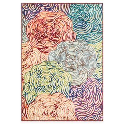 Loloi Rugs Lyon Floral 7-Foot 7-Inch x 10-Foot 5-Inch Area Rug in Multicolor