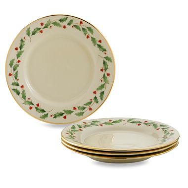 Lenox® Holiday™ Party Plates (Set of 4)