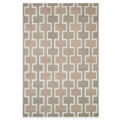 Loloi Rugs Weston Squares 2-Foot 3-Inch x 3-Foot 9-Inch Accent Rug in Beige