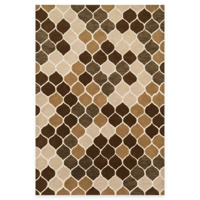 Loloi Rugs Weston Comb 2-Foot 3-Inch x 7-Foot 6-Inch Runner in Neutral/Brown
